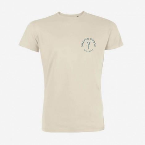 T-shirts Shaper House - Vintage white - Back