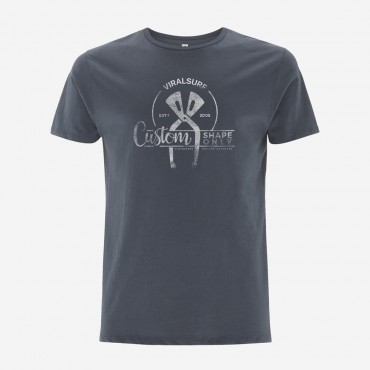 """T-shirts VIRAL Surf """"Caliper"""" - Light charcoal - Taille - M"""