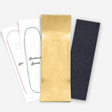 Skateboard 'Shortboard', à faire soi-même